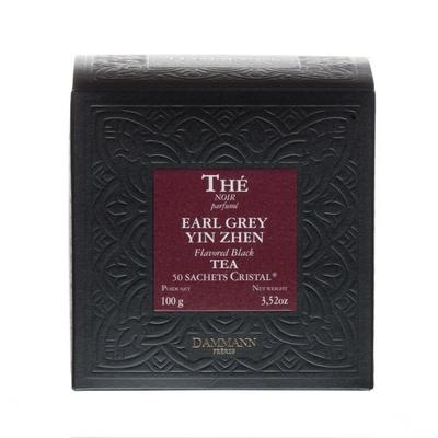 Thé Noir Ear Grey Yin Zhen, 50 Sachets cristal
