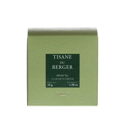 Tisane du Berger, 25 Sachets cristal