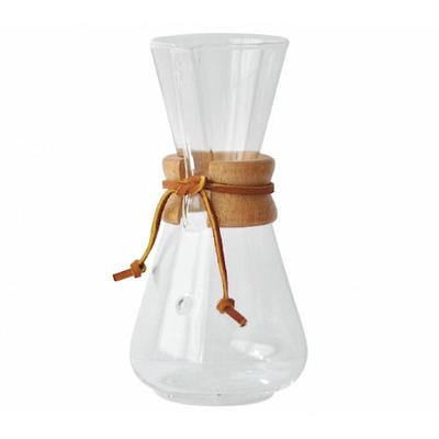 Cafetière Chemex en verre 3 Tasses