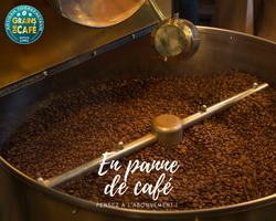 En panne de café __