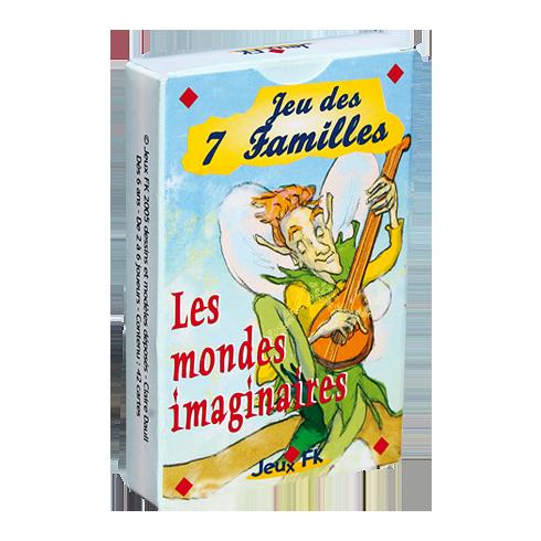 Jeux de 7 Familles mondes imaginaires