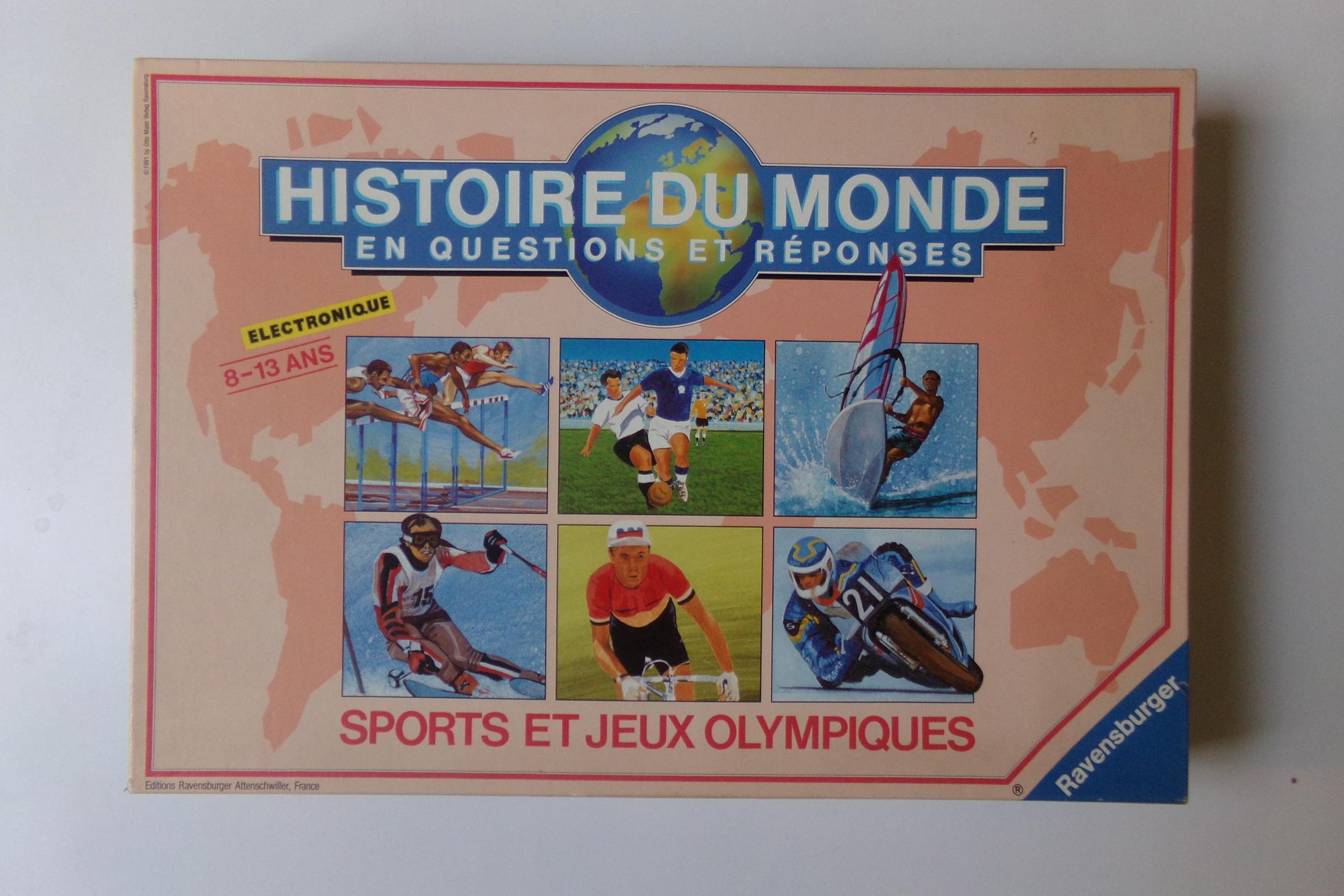 Histoire du monde sports et jeux olympiques