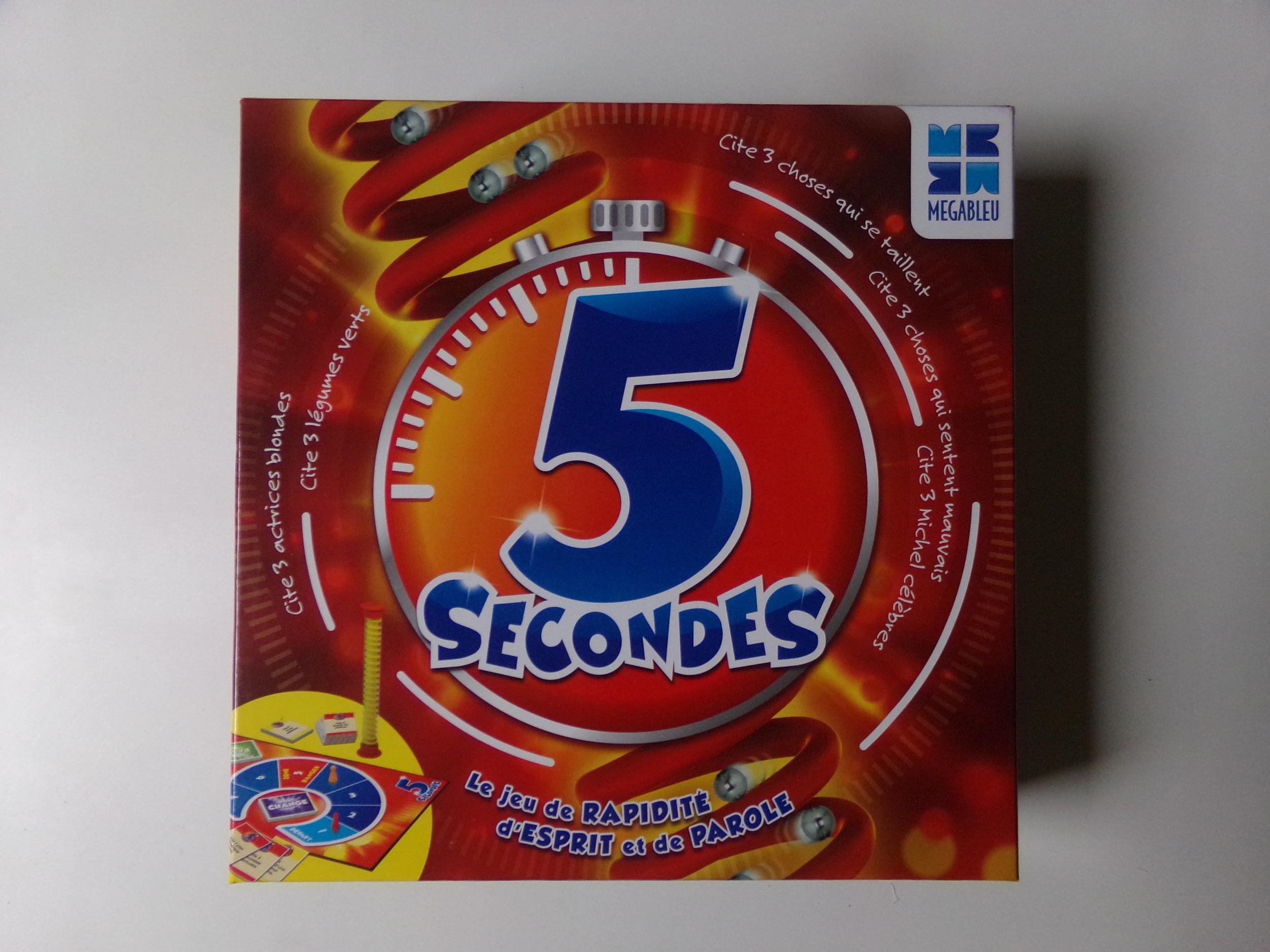 5 secondes