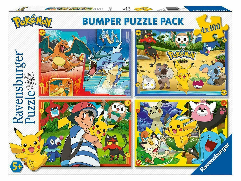 Puzzle 4x100 pièces
