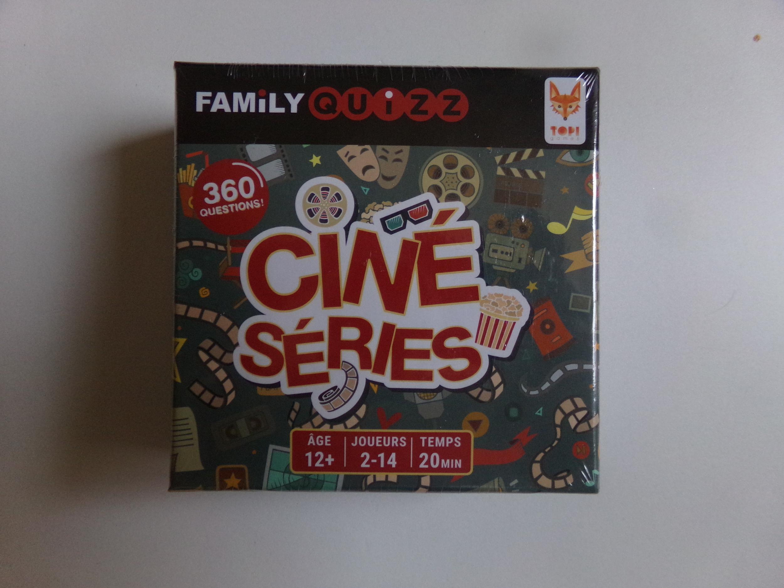 Family quizz ciné séries