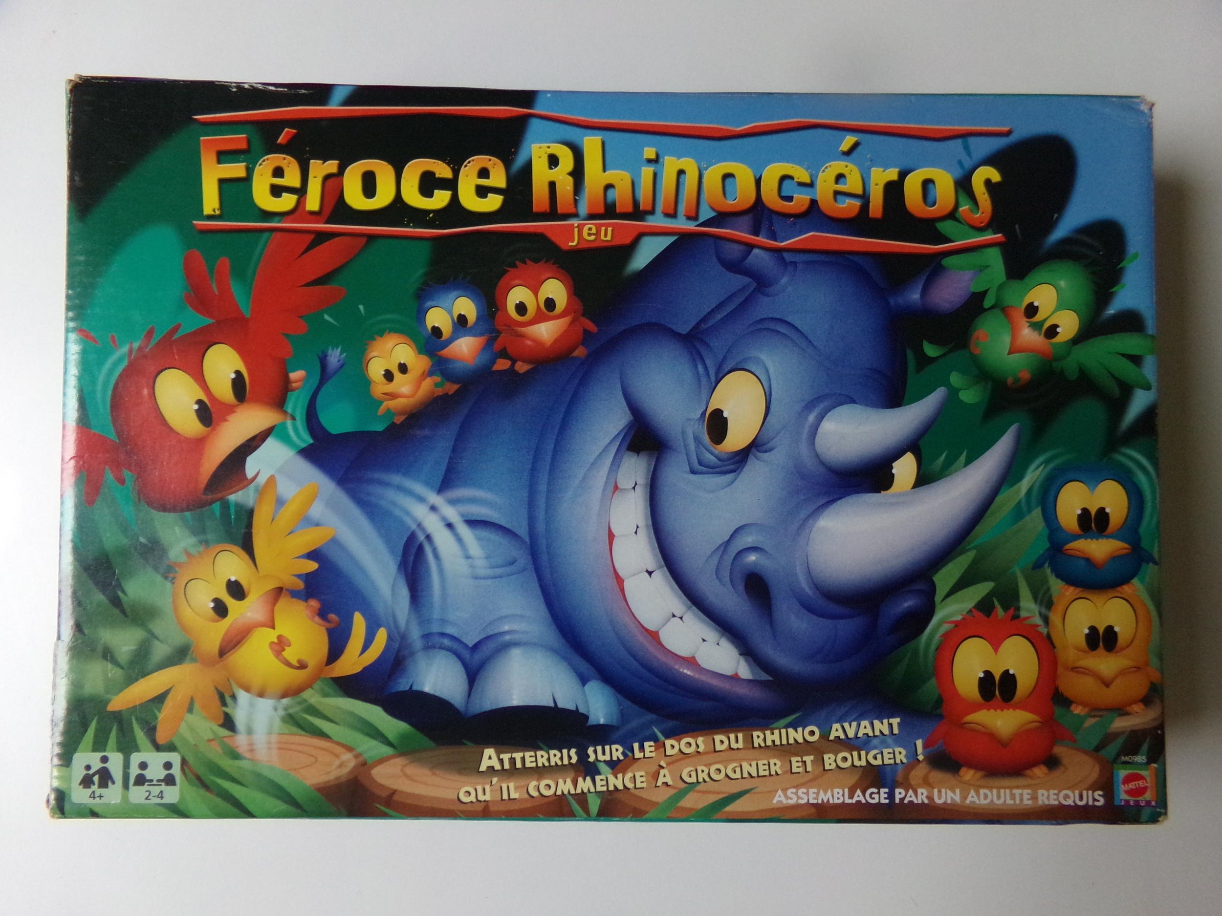 Féroce rhinocéros
