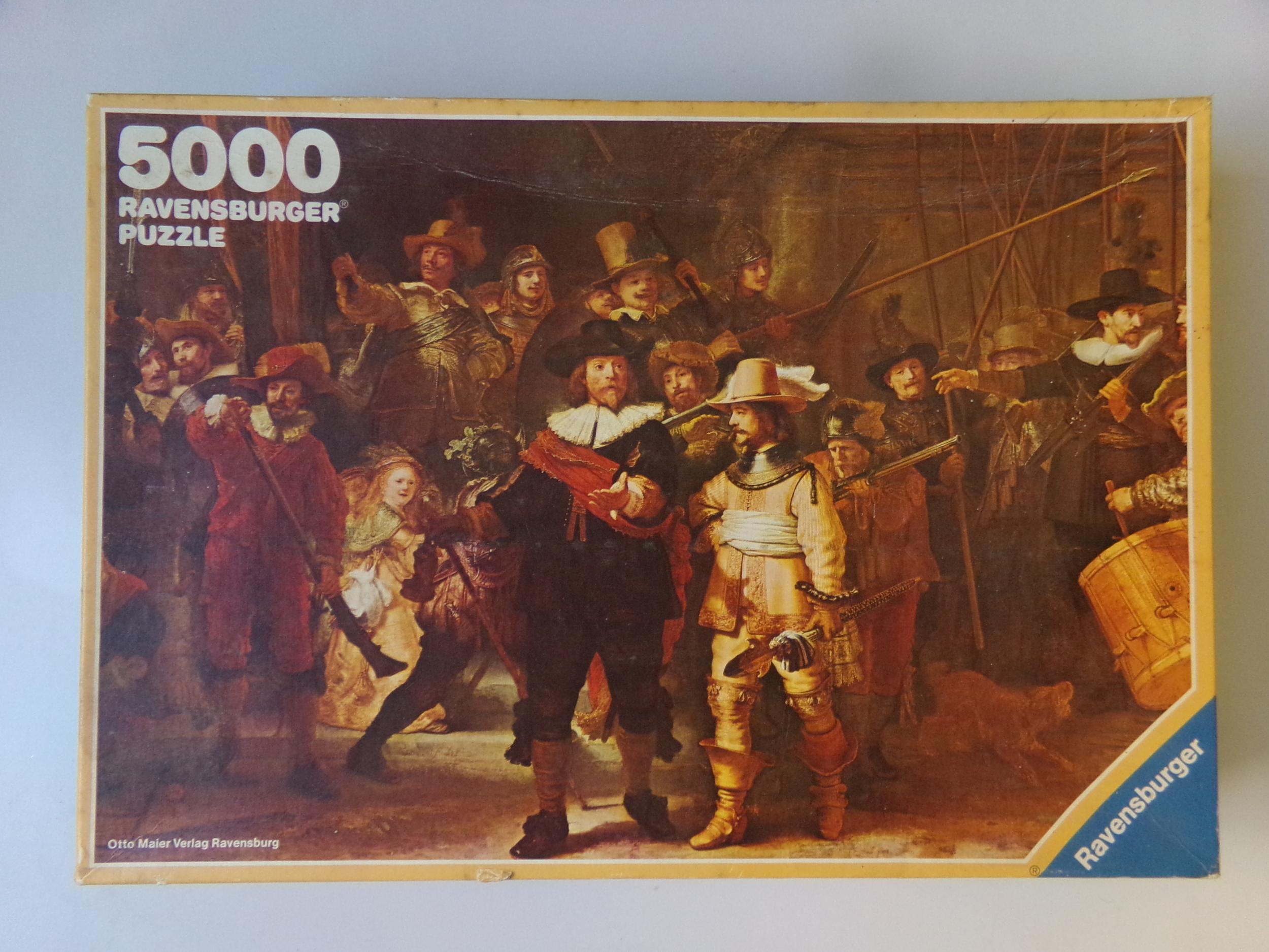 Puzzle 5000 pièces