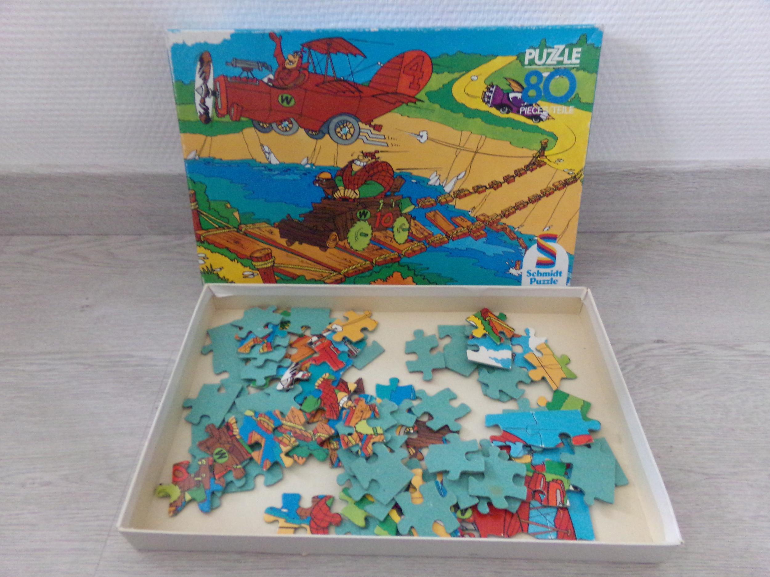 Puzzle 80 pièces