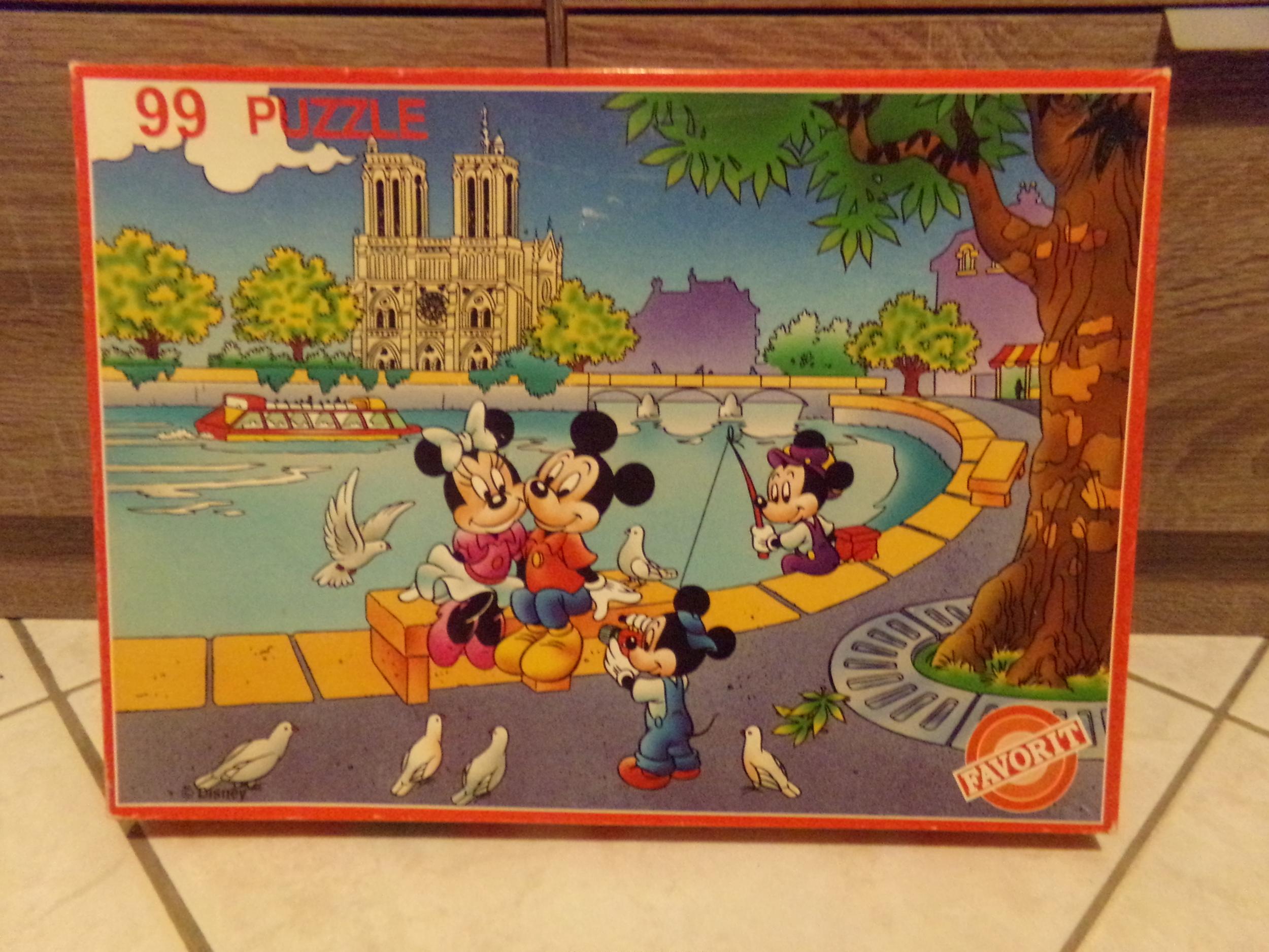 Puzzle 99 pièces