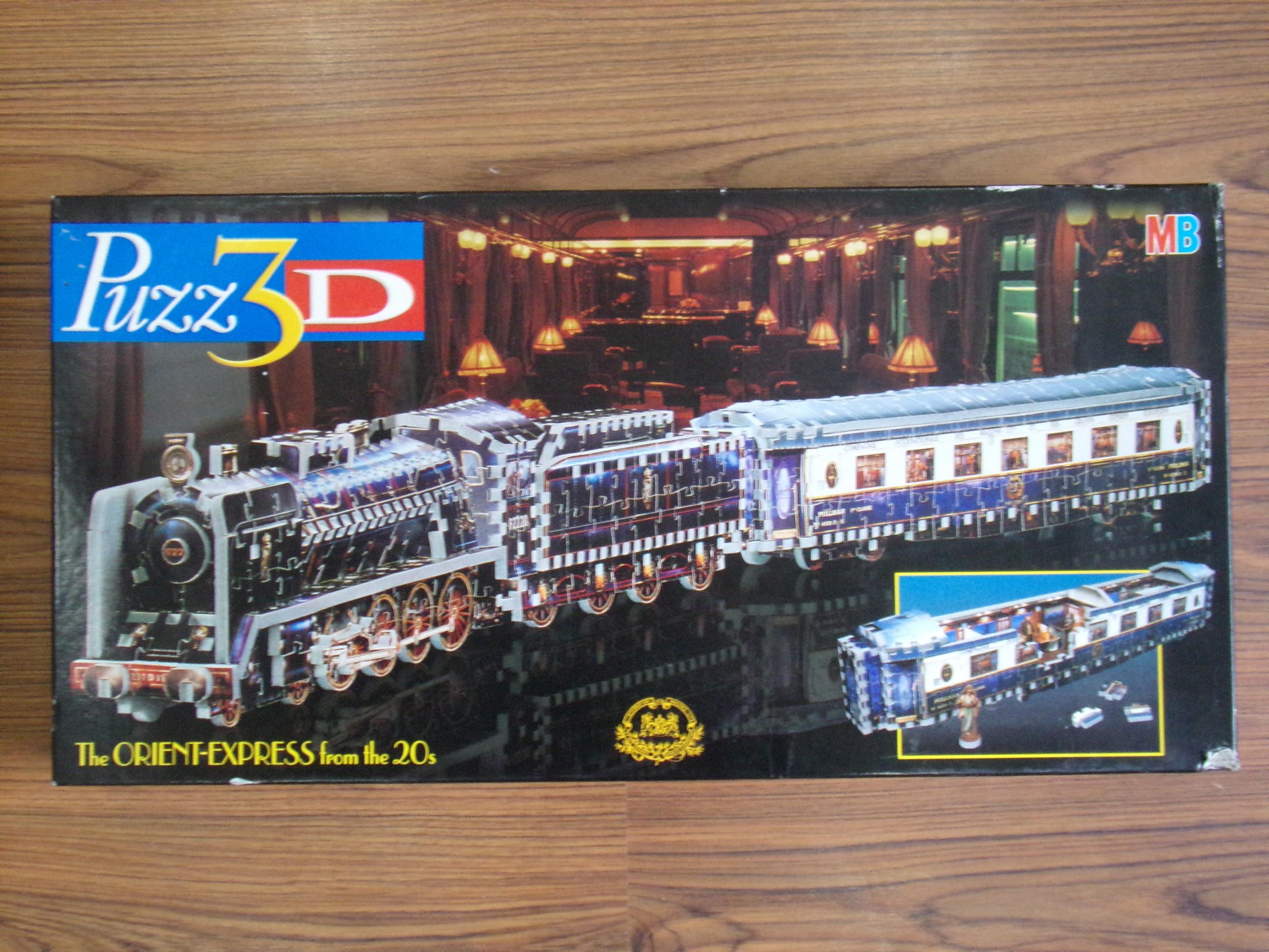 Puzzle 3D L\'orient express