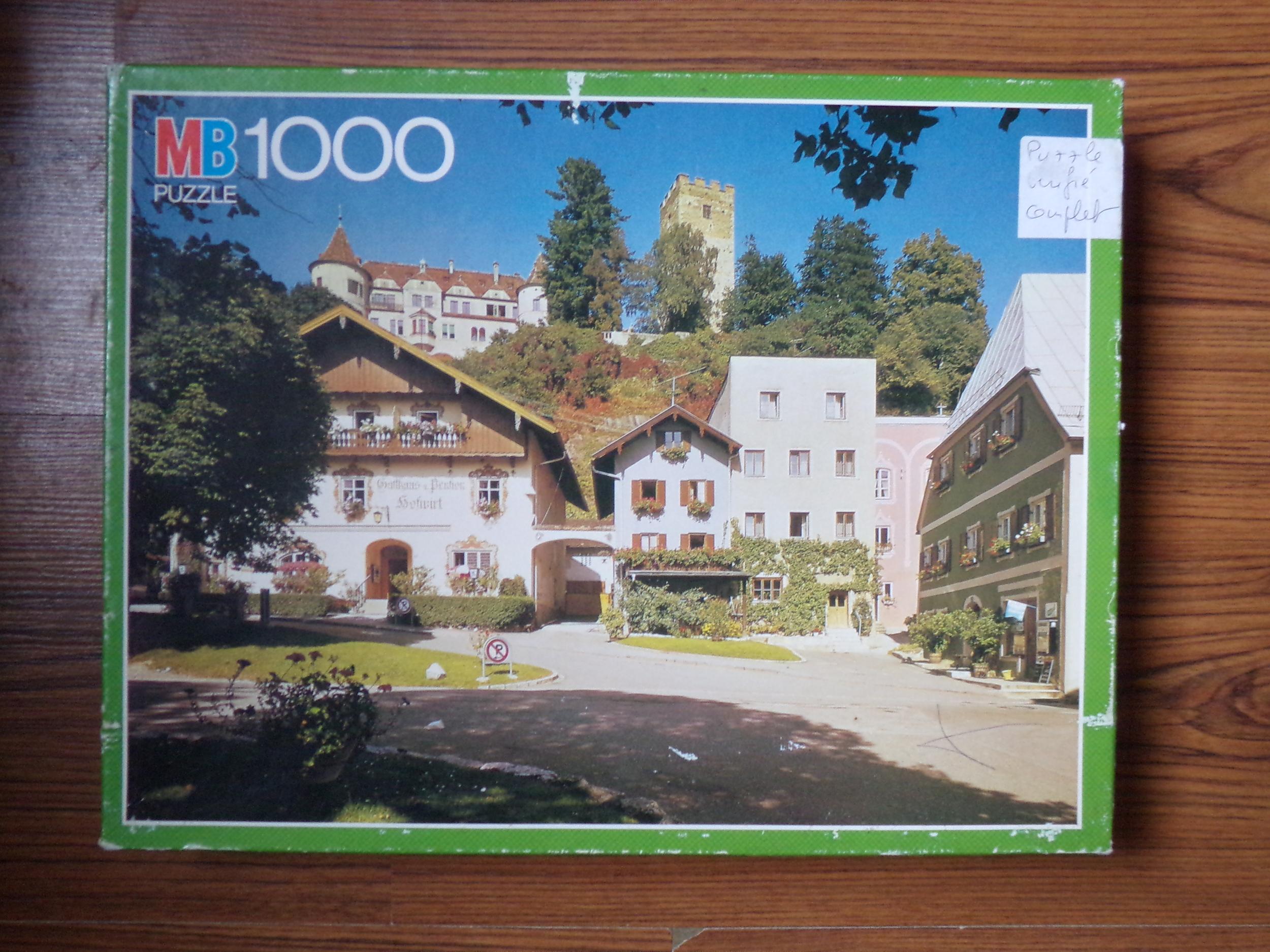 Puzzle 1000 piéces