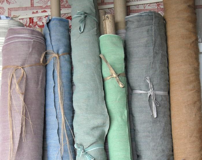 lin lav sabbia tissus au m tre lins l 39 atelier toile. Black Bedroom Furniture Sets. Home Design Ideas