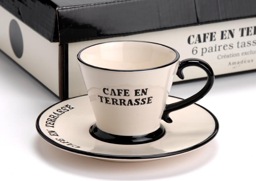 service à café Café en Terrasse