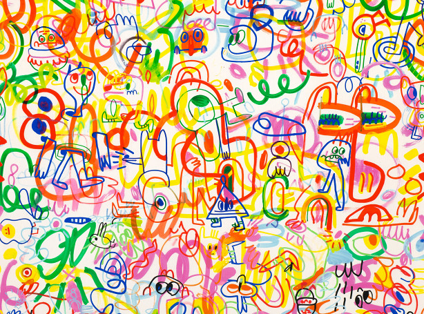 Rainbow Scrawl