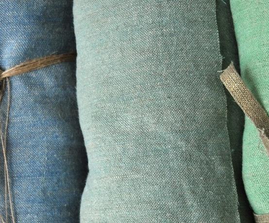 Lin lav sabbia tissus au m tre lins l 39 atelier toile de lin - Tissu lin lave au metre ...