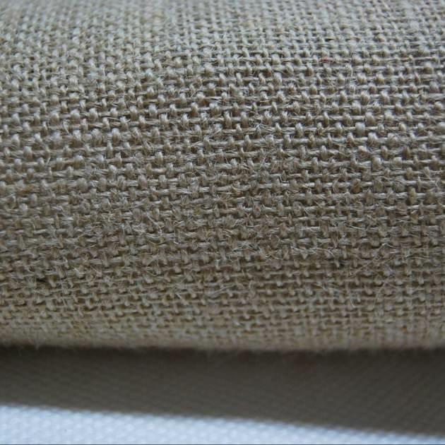 Toile de jute tissus au m tre les naturels l 39 atelier for Toile au metre pour exterieur