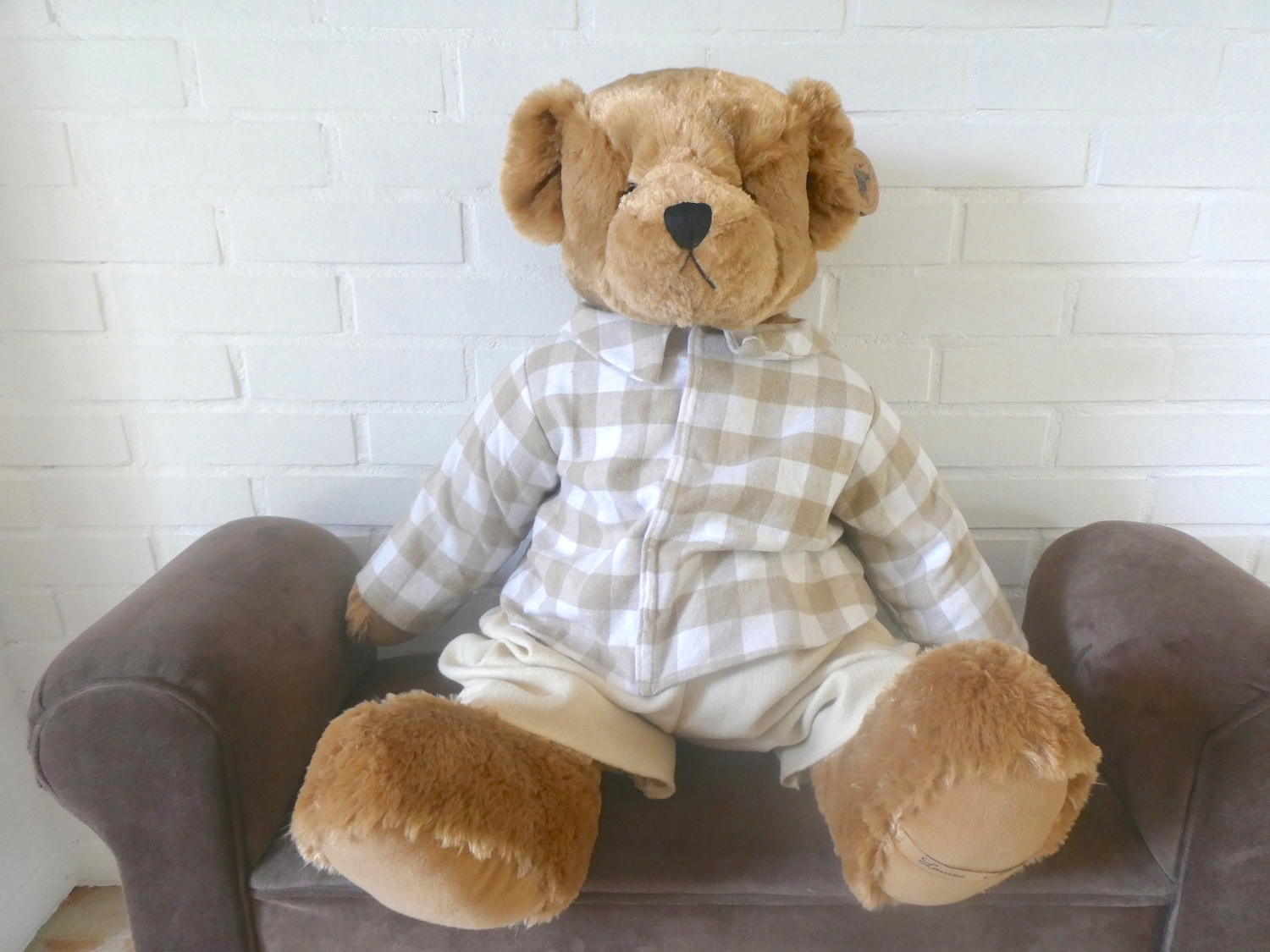 Ourson peluche Arly