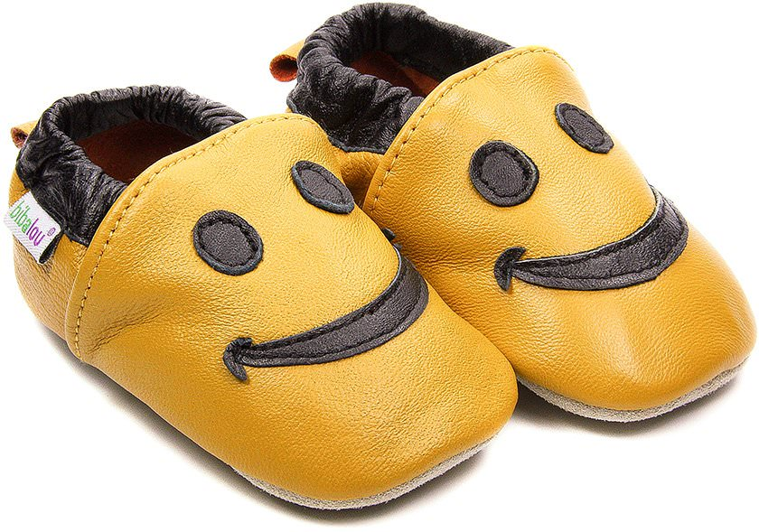 chaussons-bebe-m840-smiley-jaune-face