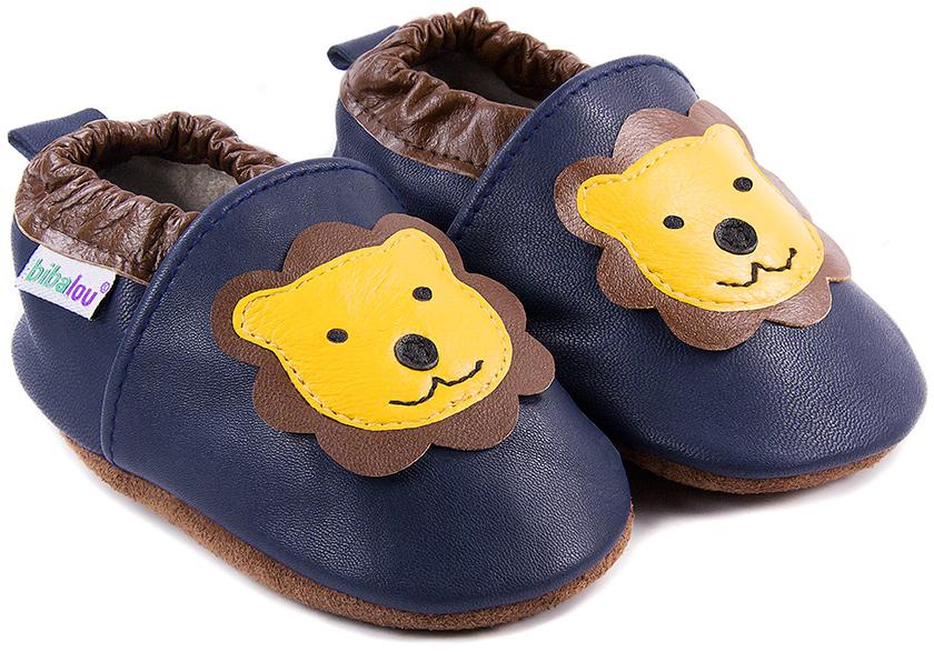 chaussons-bebe-lion-bleu-face-rvb