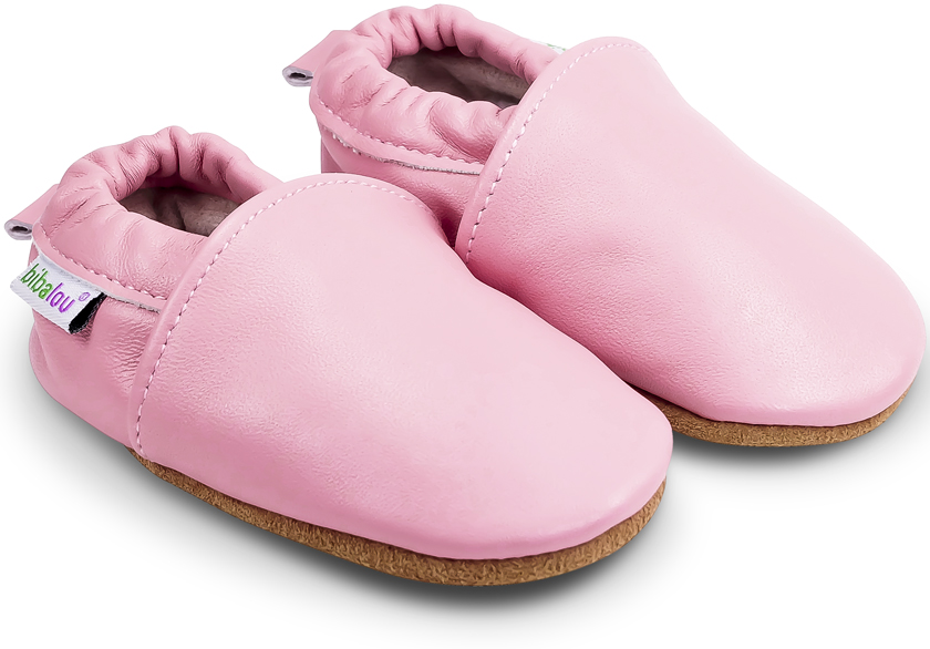 chaussons-uni-roses-840