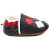 chaussons-bebe-m840-losanges-fourres-cote