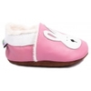chaussons-bebe-m840-jeannot-le-lapin-rose-fourres-cote
