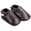 chaussons-bebe-m840-uni-marron-face