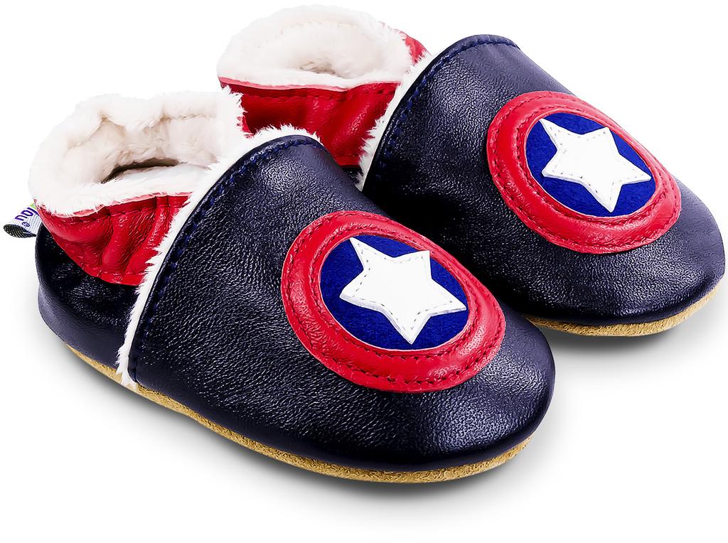 chaussons-captain-USA-fourre-900