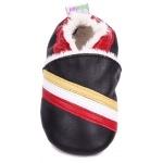 chaussons-bebe-m630-tricolore-fourres-dessus