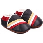 chaussons-bebe-m840-tricolore-fourres-face