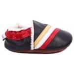chaussons-bebe-m840-tricolore-fourres-cote