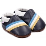 chaussons-bebe-m840-tricolore-bleu-face
