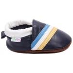 chaussons-bebe-m840-tricolore-bleu-cote