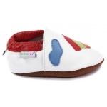 chaussons-bebe-m840-arc-en-ciel-blanc-cote