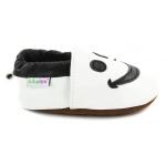 chaussons-bebe-m840-smiley-blanc-cote