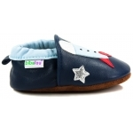 chaussons-bebe-m840-fusee-spatiale-cote