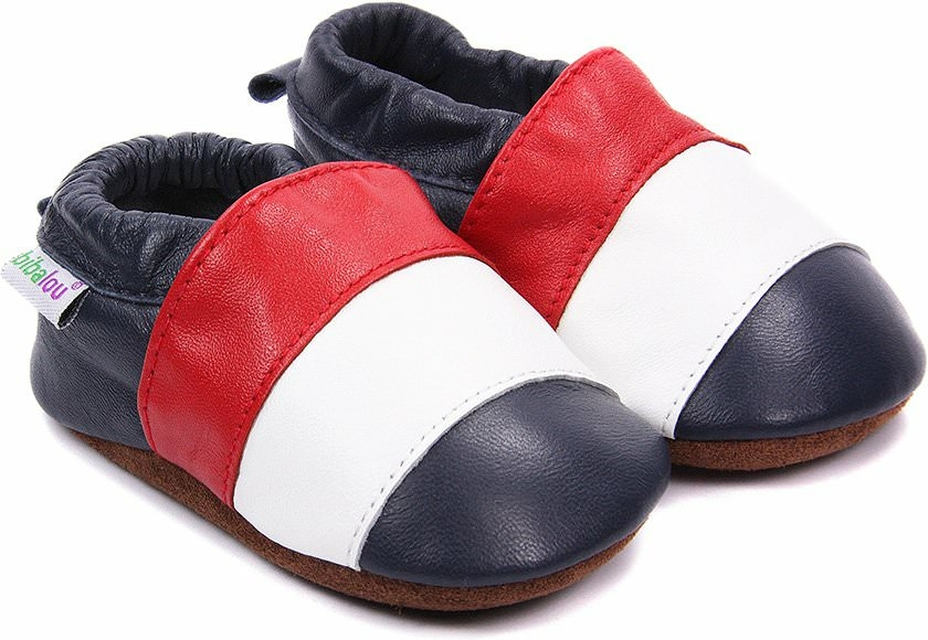 chaussons b b en cuir souple globe trotter nos chaussons l gers mod les gar ons bibalou. Black Bedroom Furniture Sets. Home Design Ideas