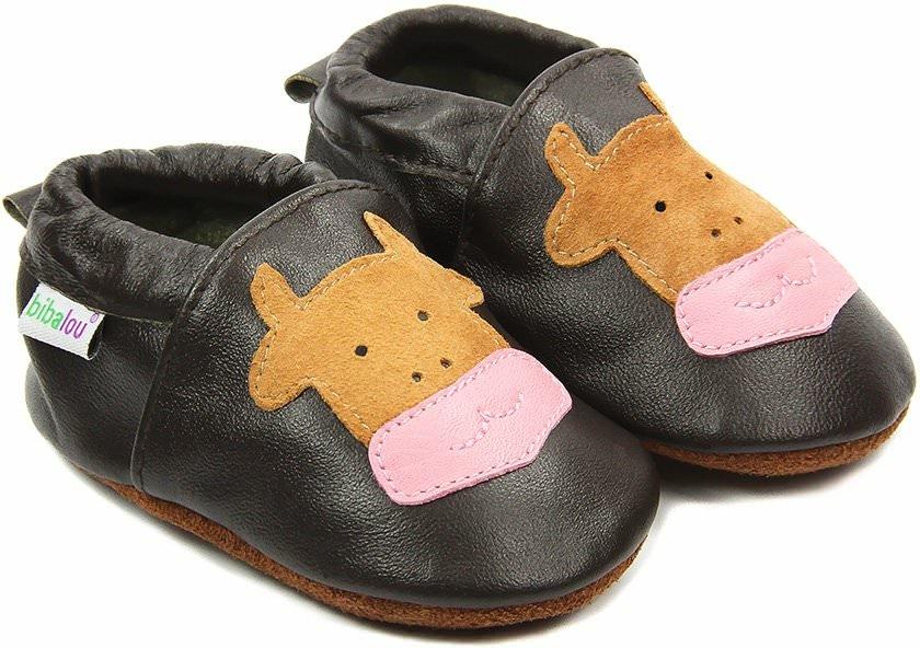 en soldes afa5c a1d3a Choisir ses chaussons bébé en cuir souple : Cuir de vache ou ...