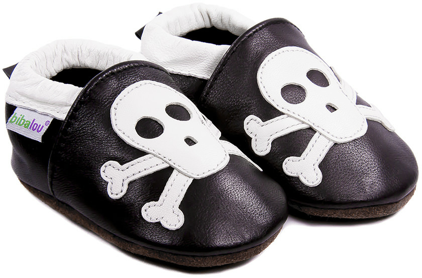chaussons-bebe-m840-rock-roll-squelette-face