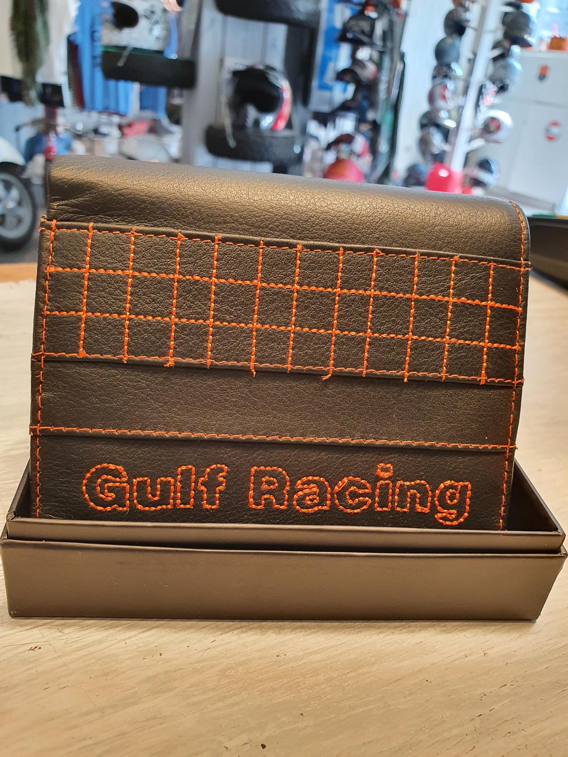 Portefeuilles Gulf Racing noir