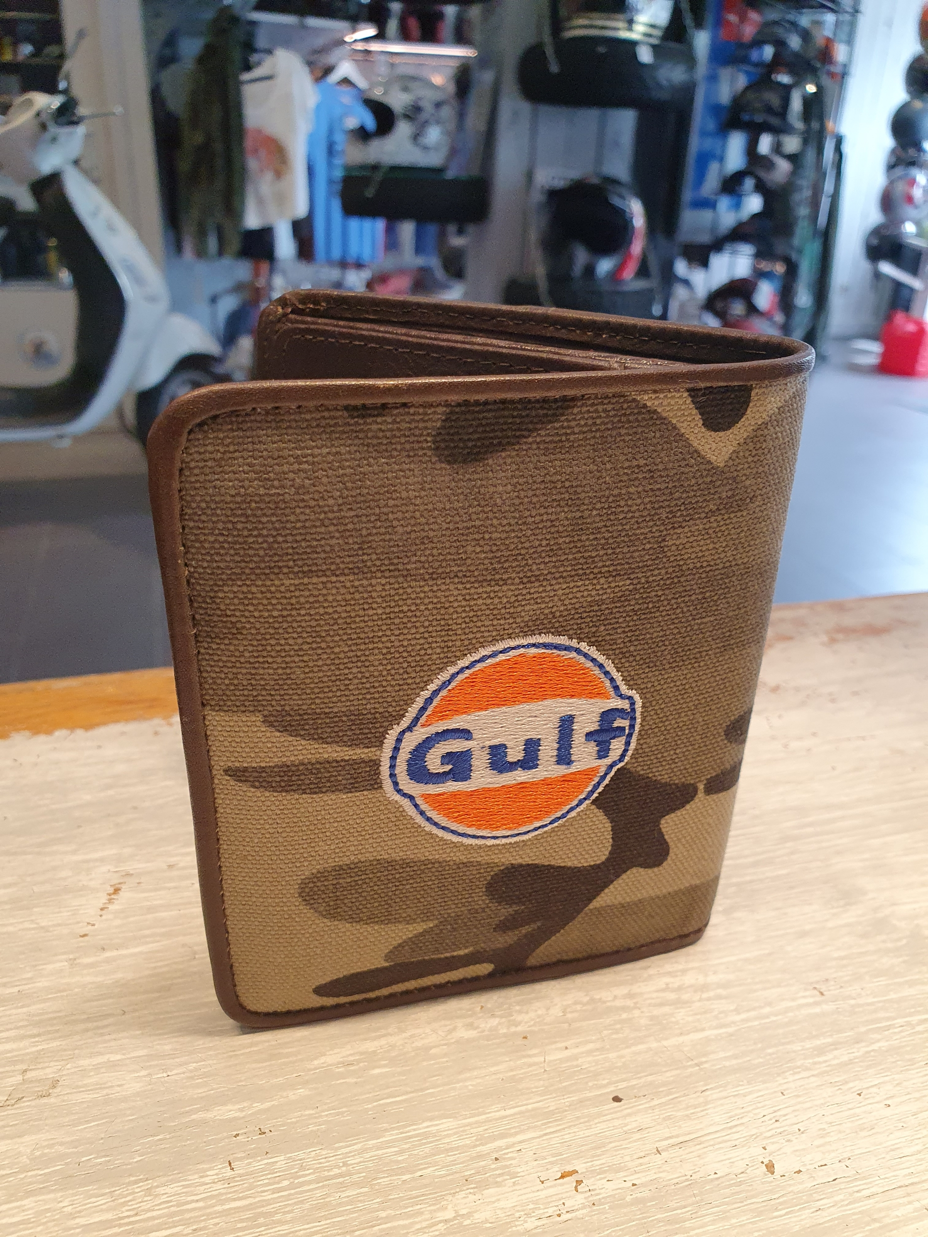 Portefeuilles Gulf camouflage