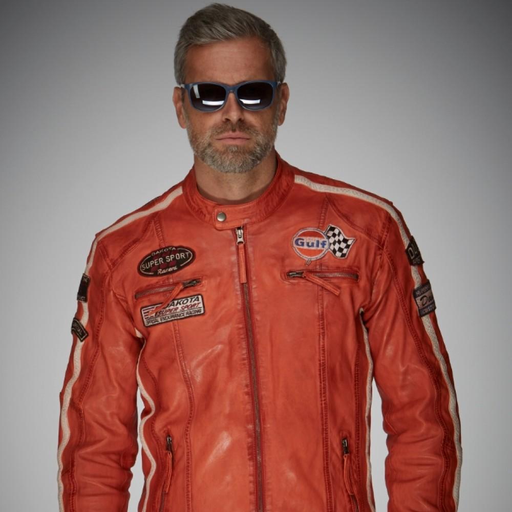 Veste en cuir GrandPrix Originals