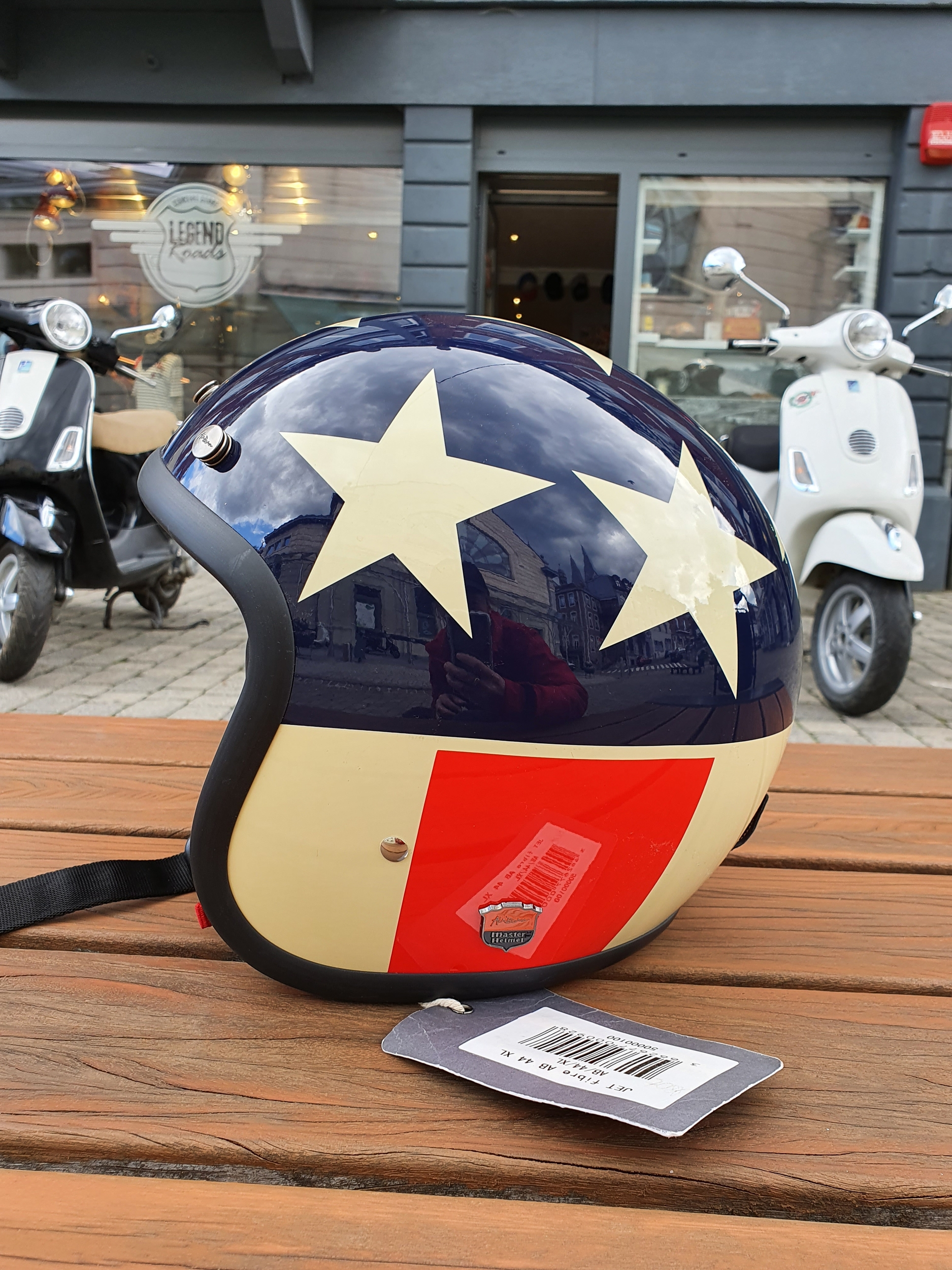 Casque Jet Airborn USA