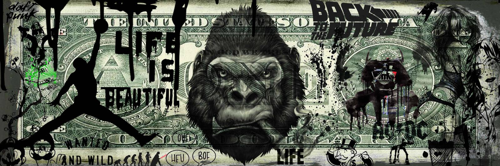 Tableau Dollar King Kong