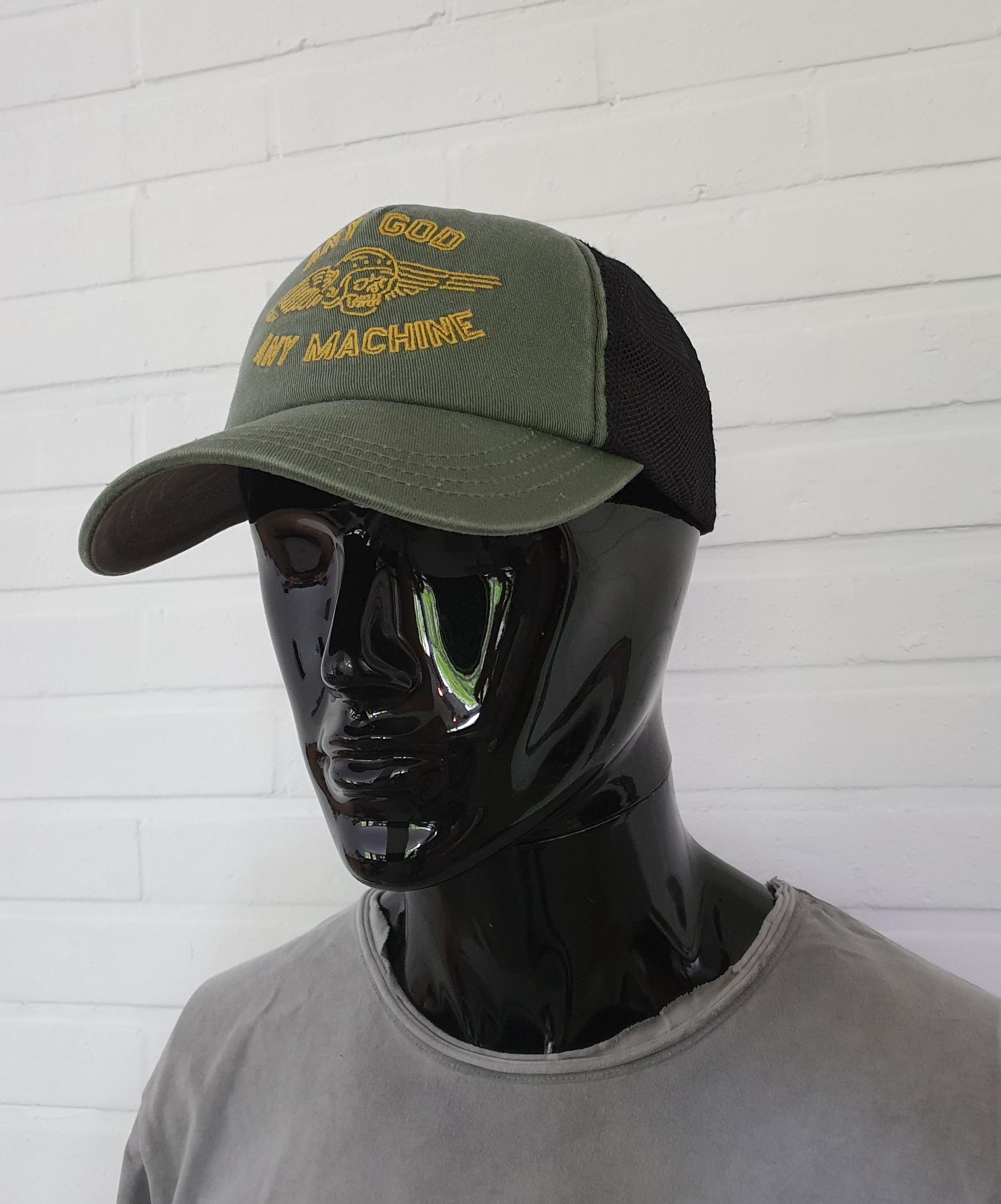 Casquette Deus Ex Machina - Brigade Trucker Olive