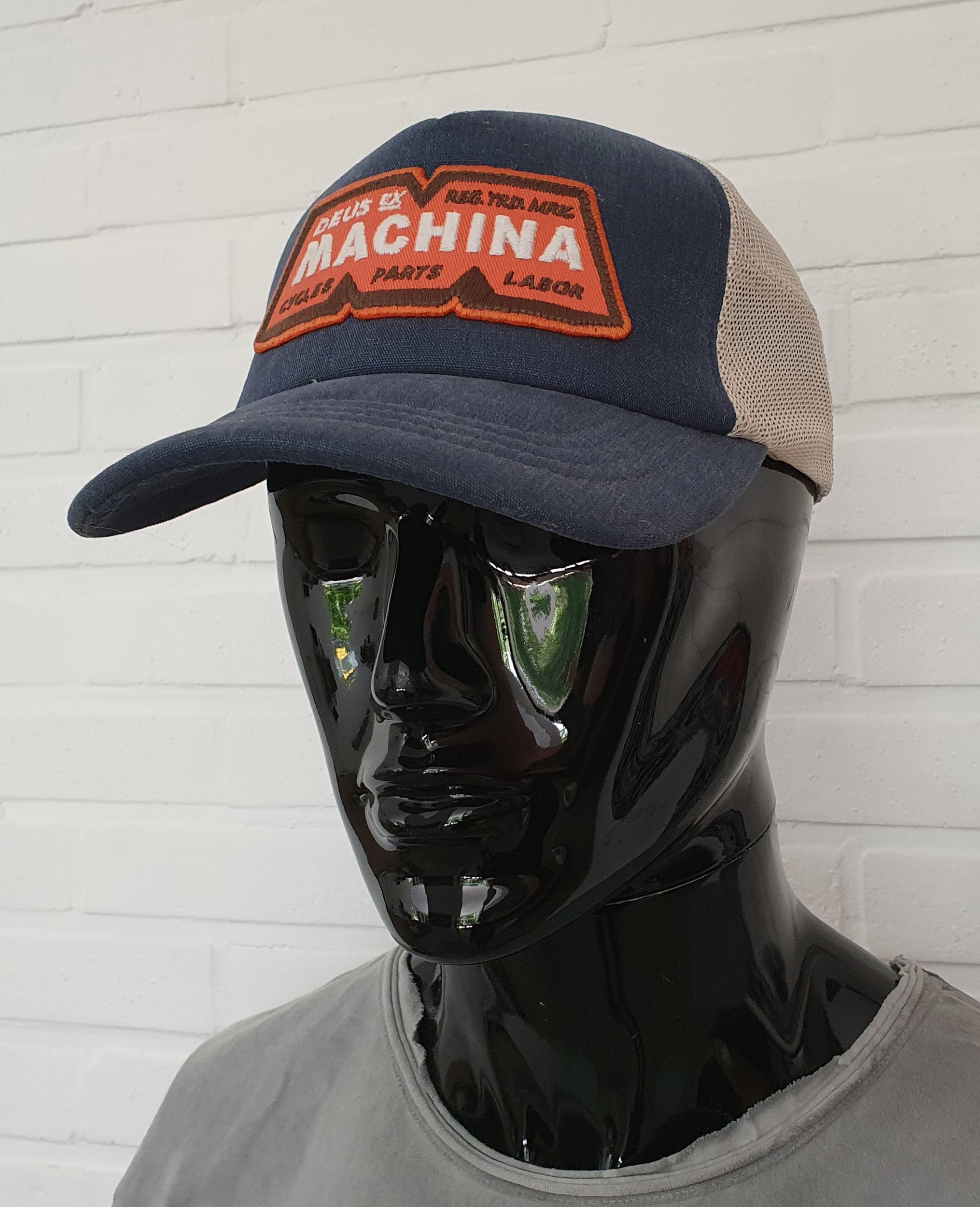 Casquette Deus Ex Machina - Machina Trucker Dusty Blue