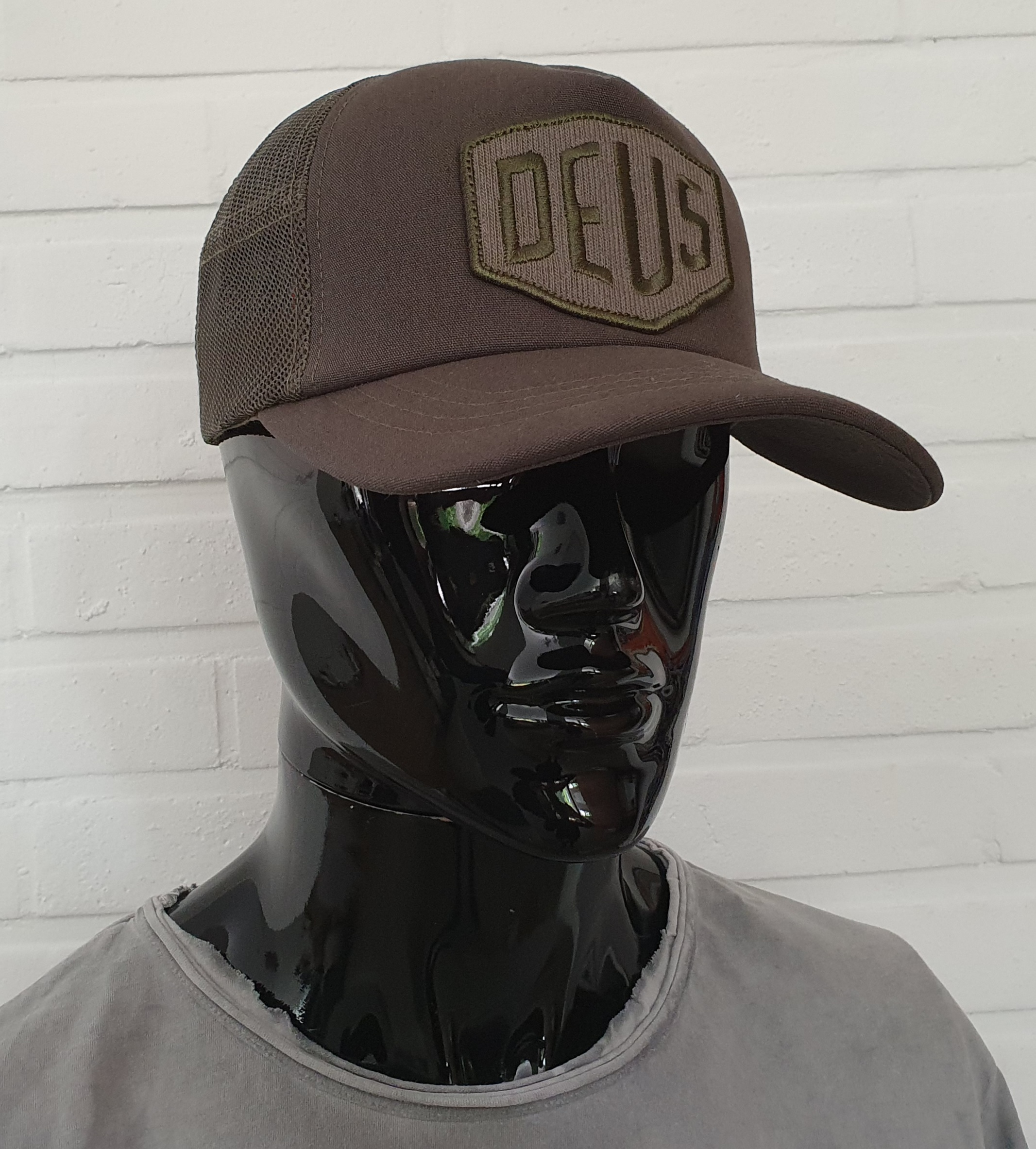 Casquette Deus Ex Machina - Terry Shield Loden Green