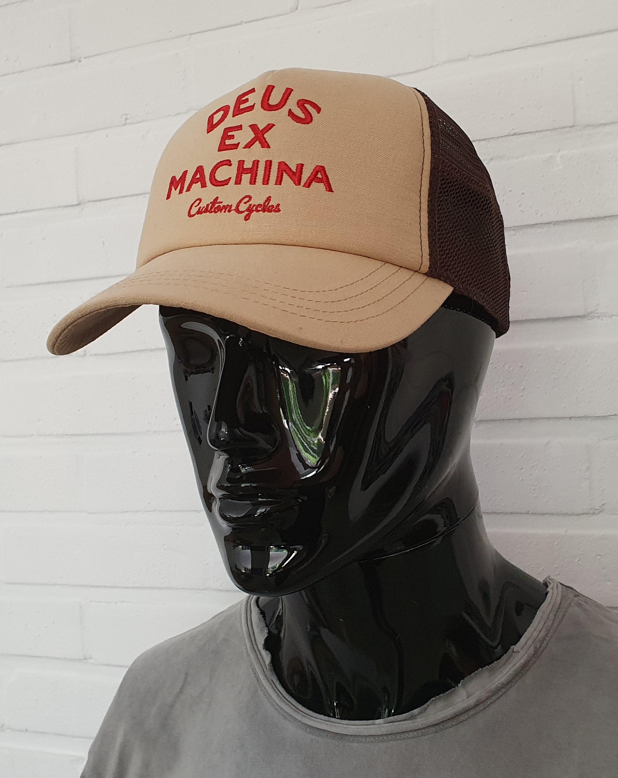 Casquette Deus Ex Machina - Diego Trucker beige