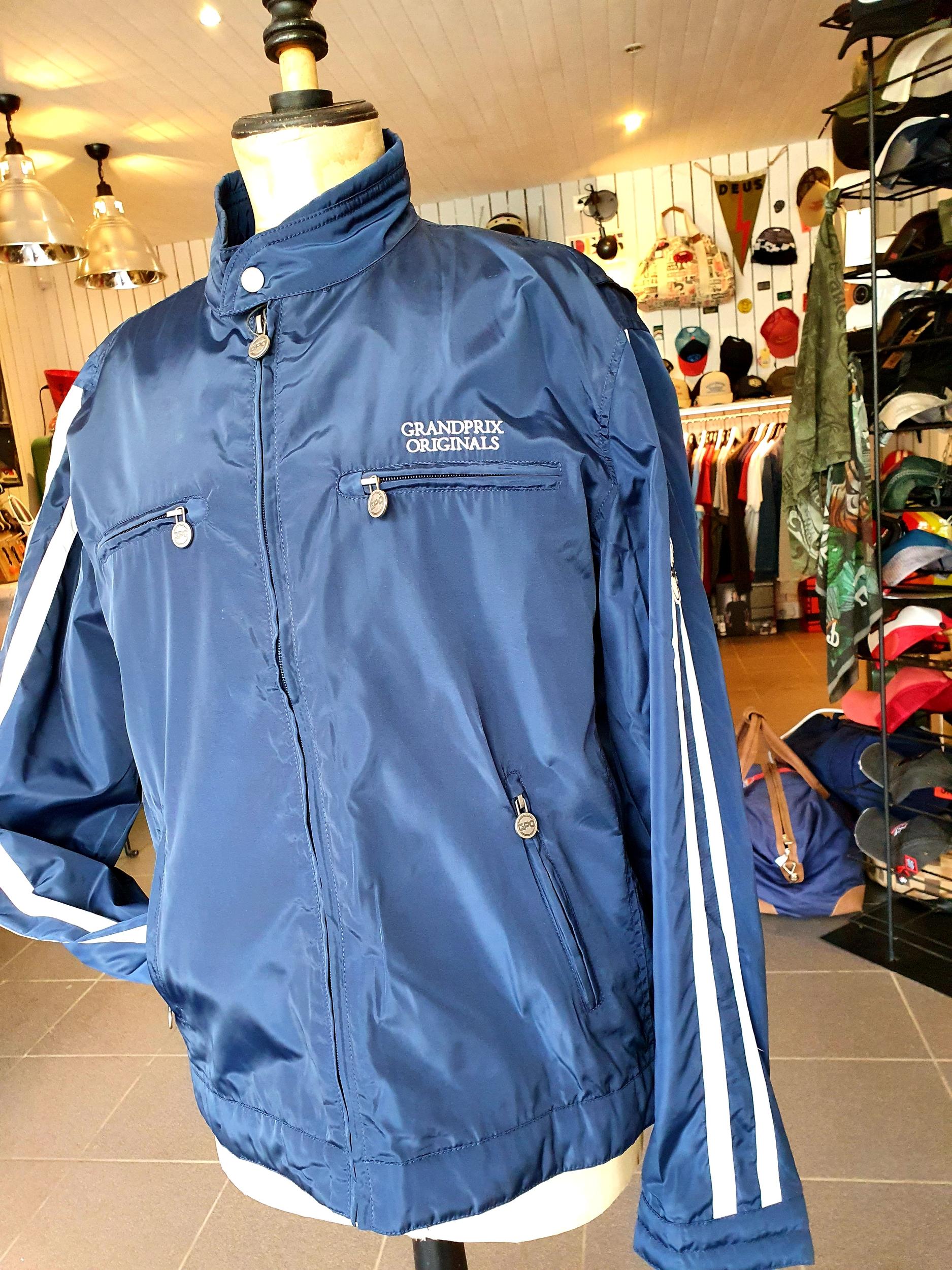 Veste racing Jacket Navy Blue