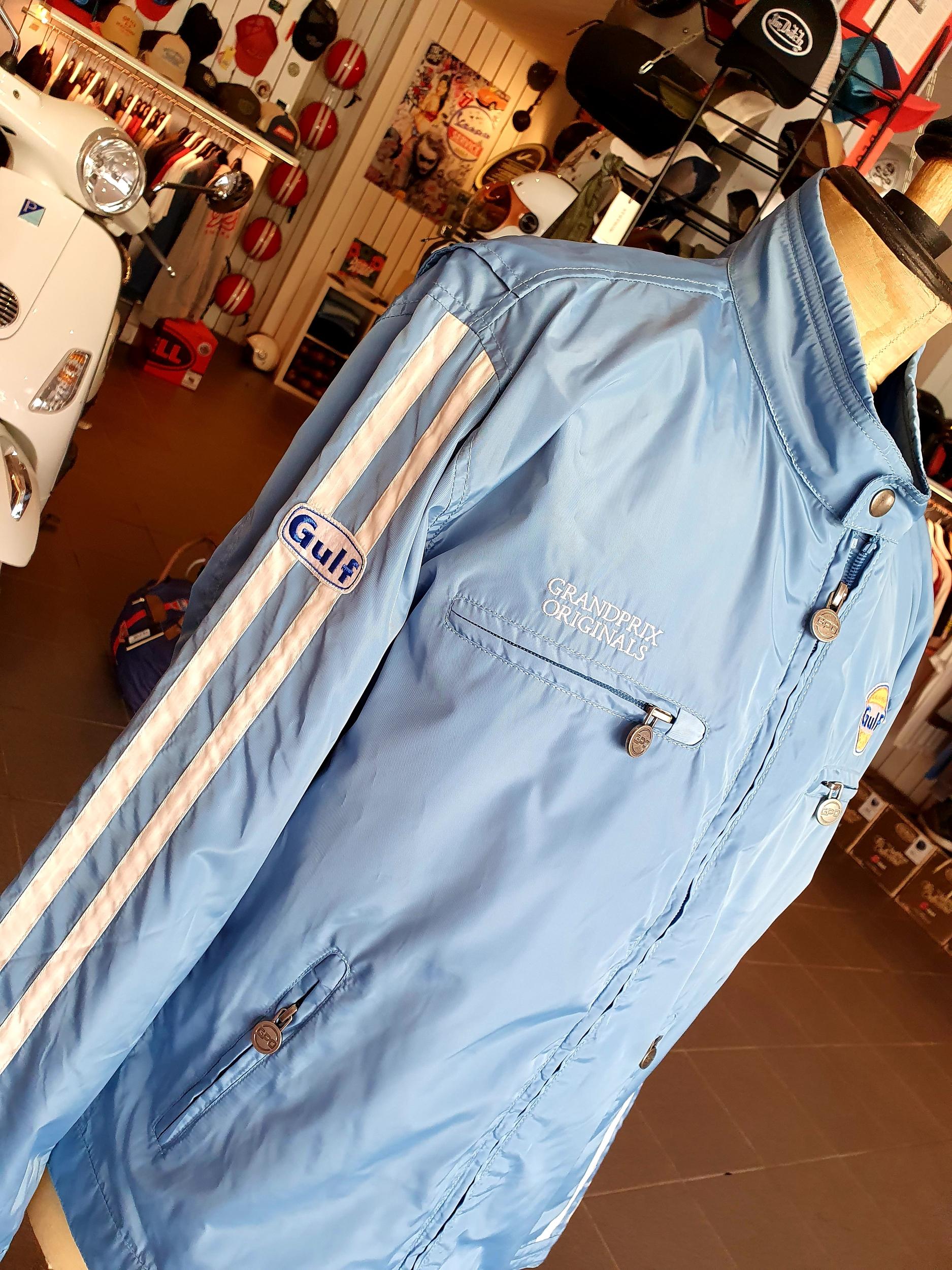 Veste Racing Jacket gulf Blue